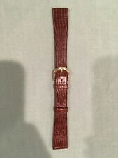 Leather watchband size 18--never used