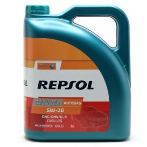 Repsol Gasmotorenöl AUTO GAS 5W30 5 Liter
