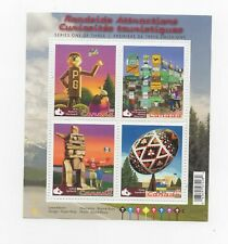 Canada 2009 Roadside Attractions MS of MNH postage stamps
