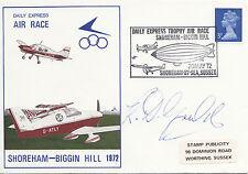 Daily Express Air Race Shoreham - Biggin Hill Signed