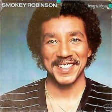 SMOKEY ROBINSON  'BEING WITH YOU'  US IMPORT LP