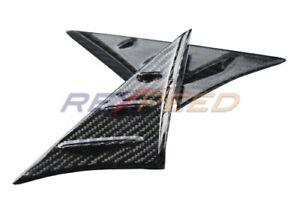 REXPEED V1 Carbon Fiber Anti-Buffeting Wind Deflector for 2020 Supra A90