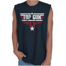 Top Gun Patriotic USA Shirt | America Gift Idea 2nd Amendment Sleeveless T Shirt