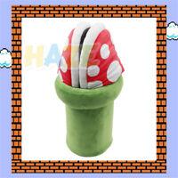 Game Super Mario Cannibal Flower Pantoufles en peluche Intérieur Chaussures 11''
