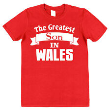 Personalised (Any Place) Greatest Son T-Shirt Gift for Son Present Mum or Dad