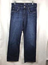 7 Seven For All Mankind Austyn Straight Leg Jeans Men's Size 30 X 30 MINT!