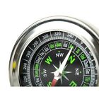 2x Tragbarer Metall Taschenkompass Wandern Kompass Marschkompass Geschenkidee