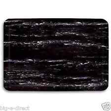 "Black - 2x3' Marble Foot Commercial Garage Kitchen Anti-Fatigue Floor Mat 24x36"""