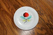 """Westmoreland Beaded Edge Fruit  Bread and Butter Plate """"APPLE"""" 6 1/4"""""""