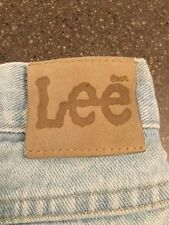 lee mens jeans faded vintage 38x30 1980's or early 90's