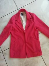 Atmosphere Salmon Pink Coat Jacket Size 12