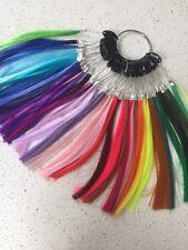 Anello di colore per capelli colorati per Extension Per Capelli 40 COLORI