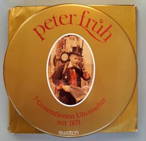Original Swatch Peter Früh Special mit Automatic Rubin SAM100Pack