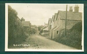 CORNWALL, CRAFTHOLE VILLAGE SCENE,vintage postcard