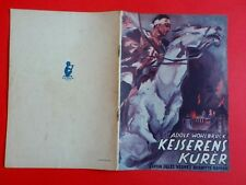 "Danish movie program.""Der Kurier des Zaren"" 1936.German.Richard Eichberg.RARE"