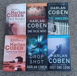 Harlan Coben books bundle 6 Paperbacks