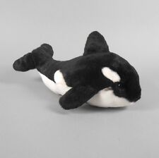 "Gund Gundimals Orca Killer Whale 11"" Black and White Plush New with Tags"
