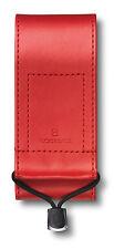 Victorinox Fodero Custodia SIMILPELLE Rossa Coltello 111mm SMALL (2-3 Strati)