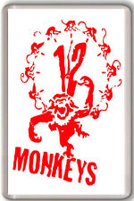 12 MONKEYS FRIDGE MAGNET IMAN NEVERA 12 MONOS