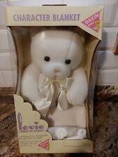 New listing Lovie Character Blanket Dakin Bear