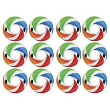 """Intex Inflatable 47"""" Color Whirl Tube Swimming Pool Raft with Handles (12 Pack)"""