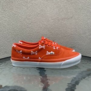 Vans WTAPS Era US9 Orange Bones Sample No Box Sk8 Slip On Squid Old Skool