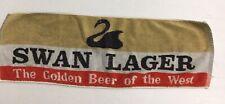 Vintage Swan Lager Beer Bar Towel Mat Pub Man Cave Decor