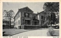 B49/ Winnsboro South Carolina SC Postcard c1940 Fairfield Inn Hotel