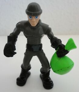 Hasbro Adventure Heroes Robber Cat Burglar w/ Money Bag Action Figure 2009
