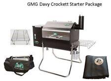 Gmg Davy Crockett Pellet Grill Bbq Starter Package, Dcwf+Ph-Smc+6014+6016R
