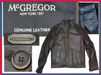 McGREGOR Chaqueta Cuero Hombre M/ 48 EU /38 UK US MG02 T2G