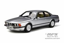Bmw e24 635 CSI 1982 plata Silver metallic Polaris 1:18 Otto Mobile ot 313