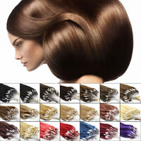 """50g 16""""18""""20""""100s Micro Ring Loop Remy Straight 100% Remy Human Hair Extensions#"""