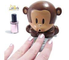 ASCIUGA SMALTO scimmietta nail art nice monkey soffia manicure UNGHIE