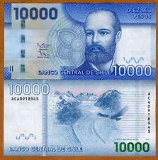 Chile, 10000 (10,000) Pesos, 2014 (2017), P-164-New, UNC
