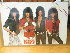 KISS rock n roll original 1985 Vintage Poster 10617