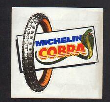 """AUTOCOLLANT / PNEU MOTO """"MICHELIN COBRA"""""""