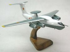 Ilyushin IL-76 Candid Airplane Desktop Wood Model Large