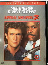 Mel Gibson Danny Glover LETHAL WEAPON 2 Director's Cut ~ 1989 ~ UK DVD