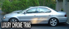 Acura TL Stainless Steel Chrome Pillar Posts by Luxury Trims 1999-2003 (6pcs)