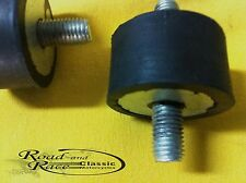 2 Rubber Mounts, 06.0622 Suits Norton Commando Exhaust, Muffler and  Fuel Tank