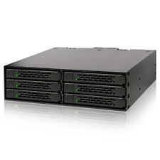 ICY DOCK ToughArmor MB996SP-6SB 6 Bay 2.5 SATA HDD SSD Full Metal 5.25 Rack Cage