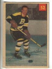 1954-55 Parkhurst Hockey Card #52 Hal Laycoe Boston Bruins VG/EX.