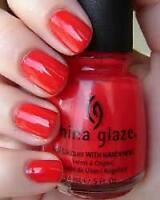 China Glaze Nail Lacquer w/ Hardeners - .5oz