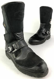 Sidi Canyon Boots Gore-Tex On/Off Road Motorcycle Riding Size 11.5 ADV Black
