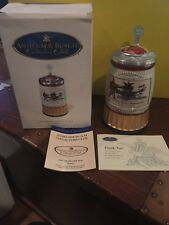 Anheuser Busch Budweiser Collectors Club 2007 Membership stein Faust Signed Nib