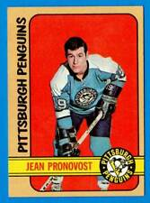 1972-73 Topps JEAN PRONOVOST (ex+) Pittsburgh Penguins