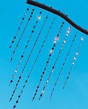 Sun Silver Garden Patio Window Balcony Home Decor Glass Mirrors Beads Bohemian