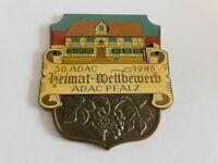 Vintage German Automobile Club Porcelain Enamel Metal Car Grille Badge Sign 459