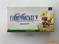 FINAL FANTASY V 5 Nintendo Super Famicom SFC JAPAN Ref:315088